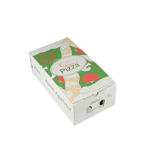 """1 x 100 Pizzakartons, Cellulose """"pure"""" eckig 30 cm x 16 cm x 10 cm"""