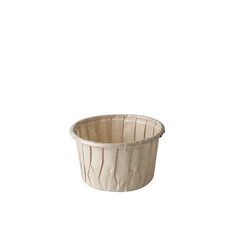 "Backformen ""pure"" 105 ml Ø 7 cm · 4 cm braun"