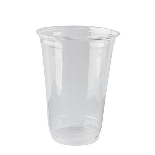 """16 * 65 Kaltgetränkebecher, PLA """"pure"""" 0,4 l Ø 9,5 cm · 12,7 cm glasklar"""