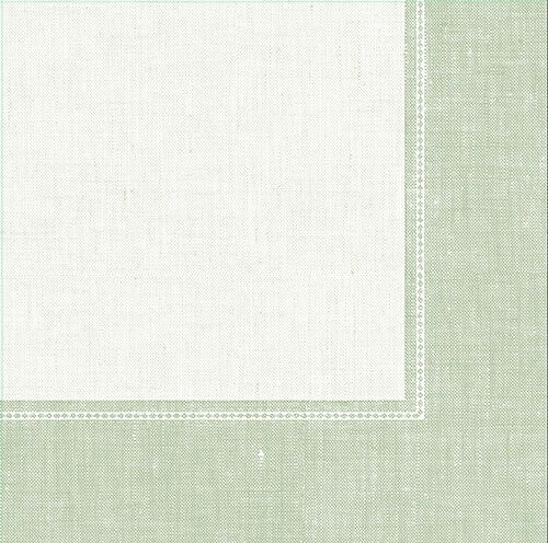"""Servietten """"ROYAL Collection"""" 1/4-Falz 40 cm x 40 cm jadegrün """"Linum"""""""