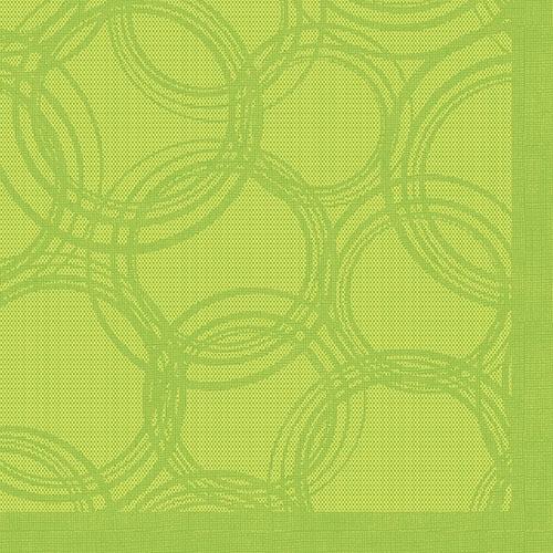 """Servietten """"ROYAL Collection"""" 1/4-Falz 40 cm x 40 cm limonengrün """"Bubbles"""""""