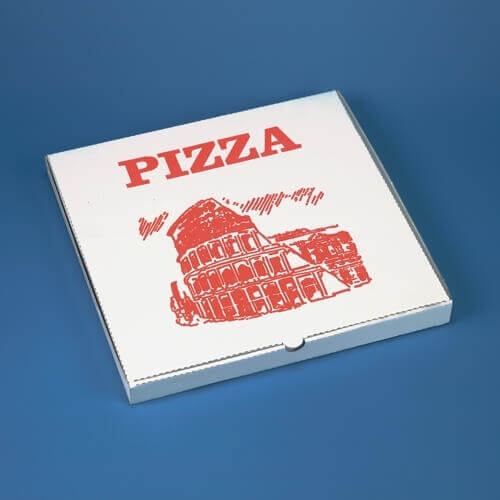 Pizzakartons eckig 30 cm x 30 cm x 3 cm