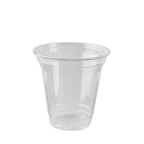 """16 x 80 Kaltgetränkebecher, PLA """"pure"""" 0,2 l Ø 9,5 cm · 9,59 cm glasklar"""