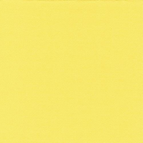 """5 x 50 Servietten """"ROYAL Collection"""" 1/4-Falz 33 cm x 33 cm gelb"""
