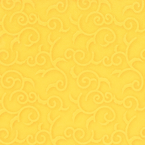 """5 x 50 Servietten """"ROYAL Collection"""" 1/4-Falz 40 cm x 40 cm gelb """"Casali"""""""