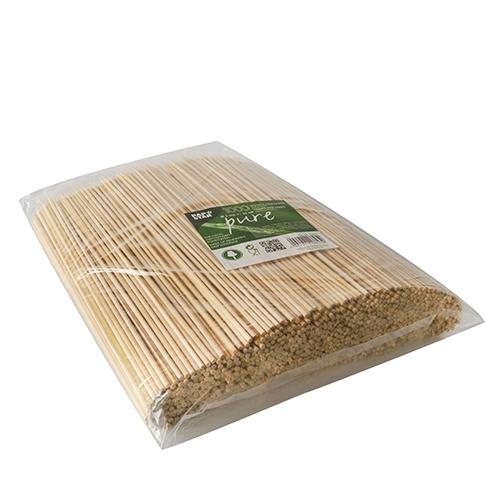 """10 * 1000 Schaschlikspieße, Bambus """"pure"""" Ø 3 mm · 25 cm"""