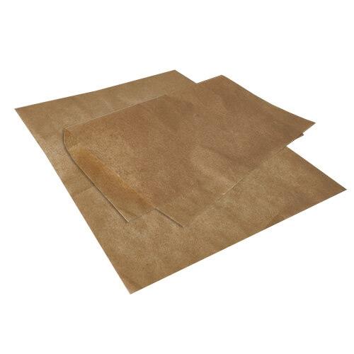Einschlagpapiere, Pergament-Ersatz 35 cm x 25 cm braun fettdicht