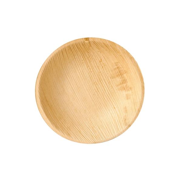 "4 x 25 Teller, Palmblatt ""pure"" rund Ø 18,5 cm · 2,5 cm"
