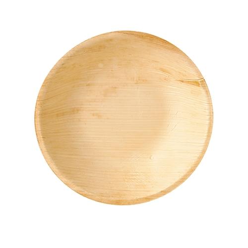 """4 * 25 Schalen, Palmblatt """"pure"""" rund 300 ml Ø 17,5 cm · 3,5 cm"""