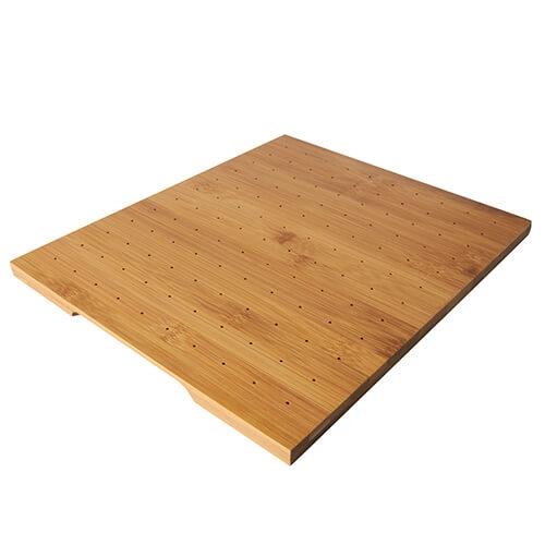 Tray für Fingerfood-Spieße, Bambus 25 cm x 30 cm
