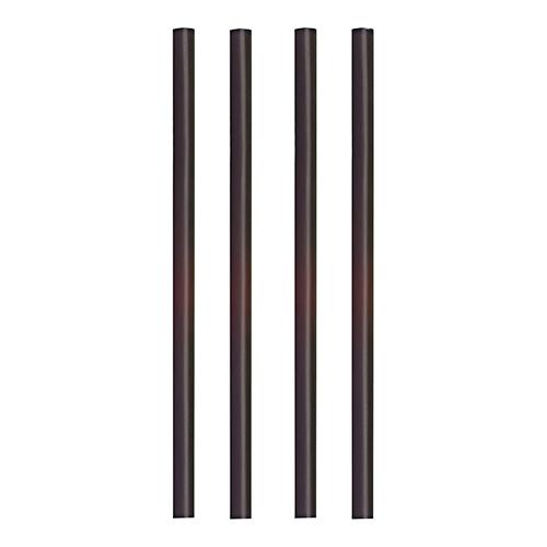 "10 x 135 Shake-Halme PLA ""pure"" Ø 8 mm · 25 cm schwarz"