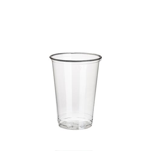 """30 x 100 Kaltgetränkebecher, PLA """"pure"""" 0,2 l Ø 7,03 cm · 9,7 cm glasklar"""