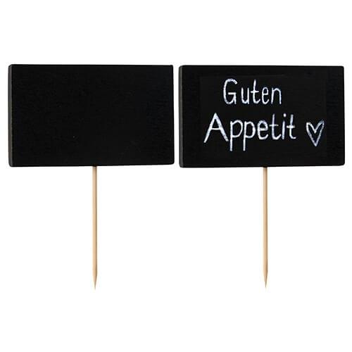 """Fingerfood - Spieße 9 cm """"Blackboard"""""""