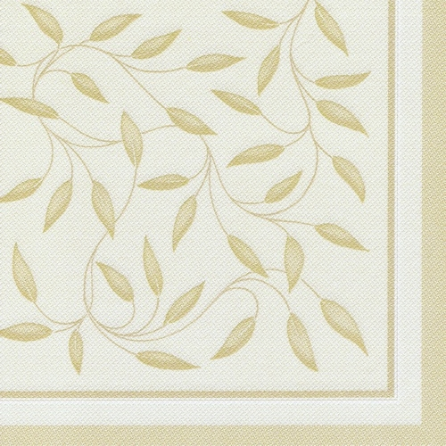 "Servietten ""ROYAL Collection"" 1/4-Falz 40 cm x 40 cm champagner ""New Mediterran"""