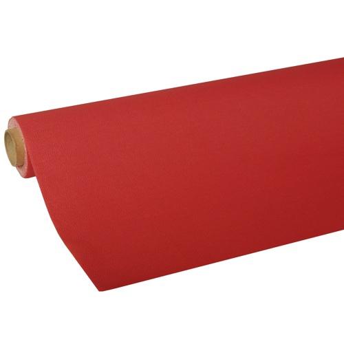 """Tischdecke, Tissue """"ROYAL Collection"""" 5 m x 1,18 m rot"""