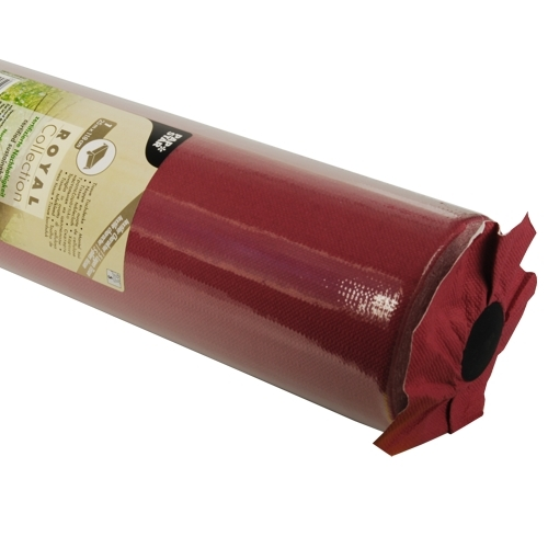 "4 x Tischdecke, Tissue ""ROYAL Collection"" 25 m x 1,18 m bordeaux"