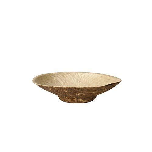 """12 x 12 Fingerfood - Schalen, Bambus """"pure"""" rund 50 ml Ø 8,5 cm · 2 cm"""