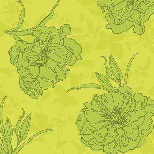 "Servietten ""ROYAL Collection"" 1/4-Falz 40 cm x 40 cm grün ""Thalia"""