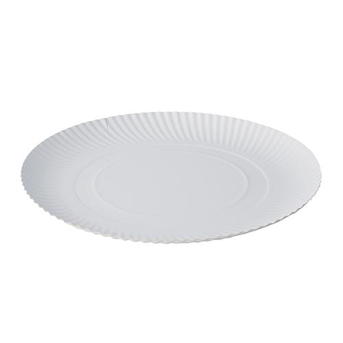 """2 x 100 Teller, Pappe """"pure"""" rund Ø 32 cm · 2 cm weiss"""