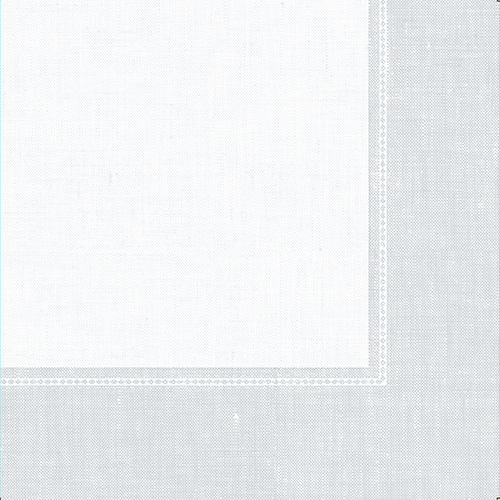 "5 x 50 Servietten ""ROYAL Collection"" 1/4-Falz 40 cm x 40 cm weiss ""Linum"""
