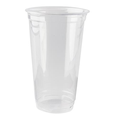 """16 * 60 Kaltgetränkebecher, PLA """"pure"""" 0,5 l Ø 9,5 cm · 15,14 cm glasklar"""