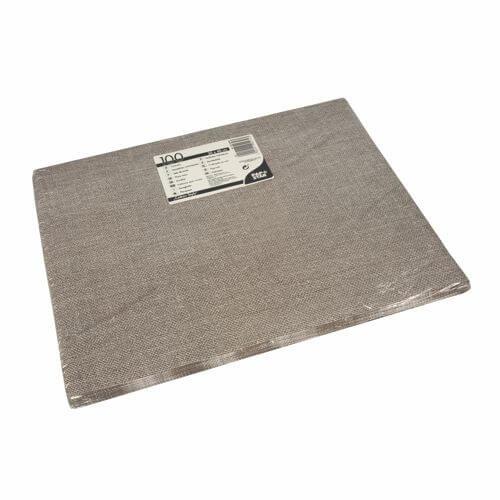 """Tischsets, Papier 30 cm x 40 cm braun """"Cotton Style"""""""