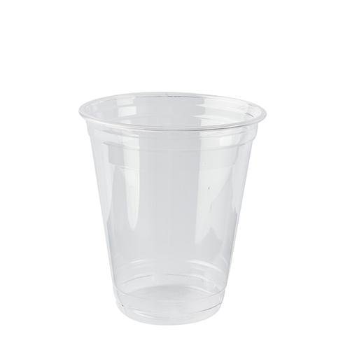 """16 * 70 Kaltgetränkebecher, PLA """"pure"""" 0,3 l Ø 9,5 cm · 10,68 cm glasklar"""