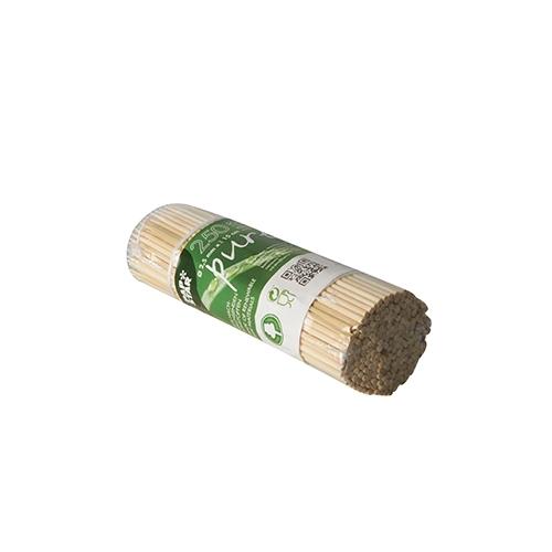"""20 * 250 Schaschlikspieße, Bambus """"pure"""" Ø 2,5 mm · 15 cm"""