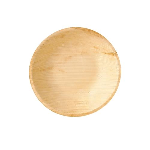 """10 x 6 Schalen, Palmblatt """"pure"""" rund 300 ml Ø 17,5 cm · 3,5 cm"""