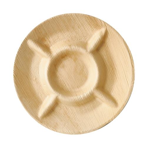 "6 x 6 Teller, Palmblatt ""pure"" 5-geteilt Ø 24,5 cm · 2 cm"