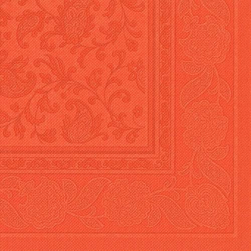"""Servietten """"ROYAL Collection"""" 1/4-Falz 40 cm x 40 cm nektarine """"Ornaments"""""""