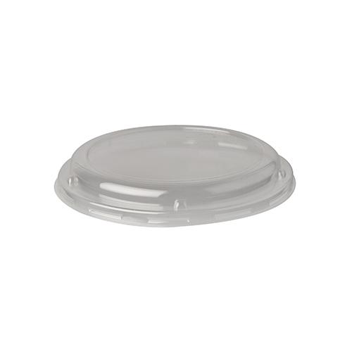"20 * 50 Dom-Deckel, PLA ""pure"" rund Ø 13,9 cm · 2 cm transparent"