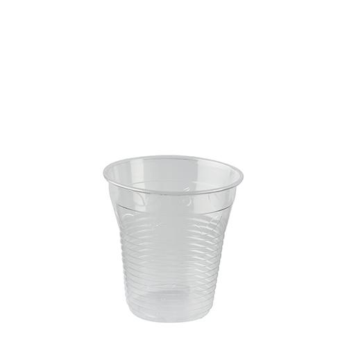 """Kaltgetränkebecher, PLA """"pure"""" 0,15 l Ø 7,08 cm · 7,29 cm glasklar"""